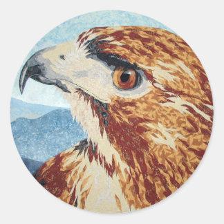 Mya - Red-tail Hawk Sticker