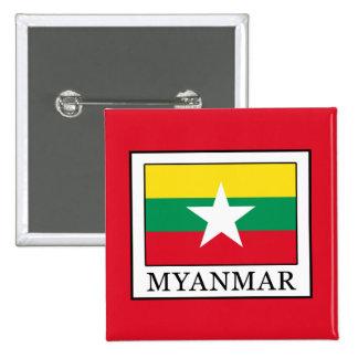 Myanmar 15 Cm Square Badge