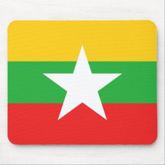 Myanmar Flag Mousepad