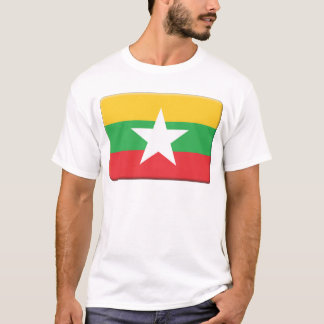 Myanmar Flag PERSONALIZE T-Shirt
