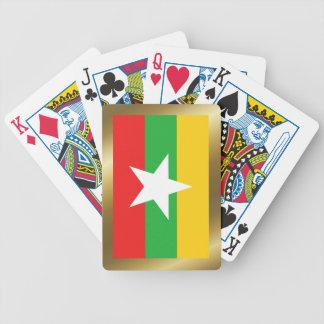 Myanmar Flag Playing Cards