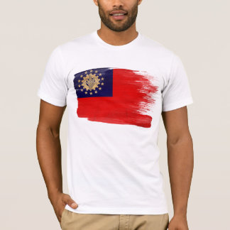 Myanmar Flag T-Shirt
