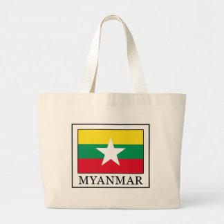Myanmar Large Tote Bag