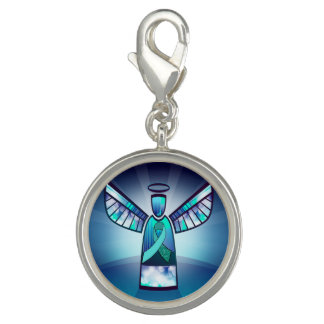 Myasthenia Gravis Angel Awareness Bracelet Charm