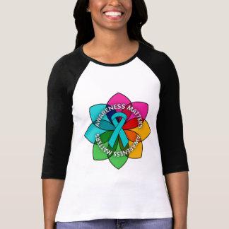 Myasthenia Gravis Awareness Matters Petals T Shirt