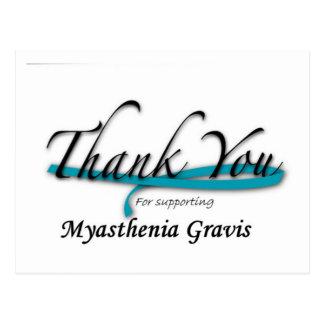 Myasthenia Gravis Awareness Thank You Postcards