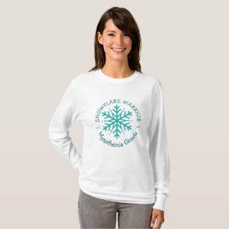 Myasthenia Gravis Snowflake Warrior Shirt