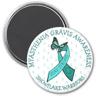 Myasthenia Gravis Stay Strong Awareness Magnet