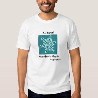 Myasthenia Gravis-Support MG Awareness Mens TShirt