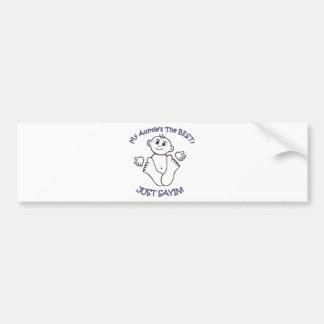 myauntie bumper sticker