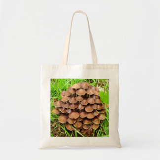 Mycena inclinata Mushroom Tote Bag