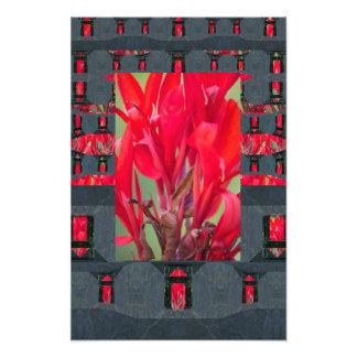 Mycenaean Floral Art Print Photo Art