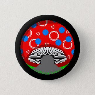 Mycotic Musing 6 Cm Round Badge