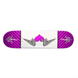 myka deck winged love skate deck
