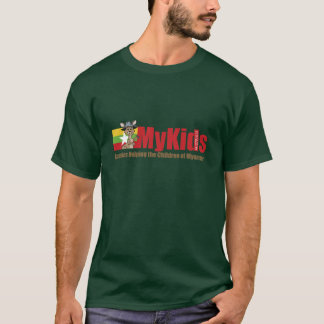 MyKids Shirt with front logo only