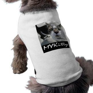 MYKitty Cat Items Sleeveless Dog Shirt