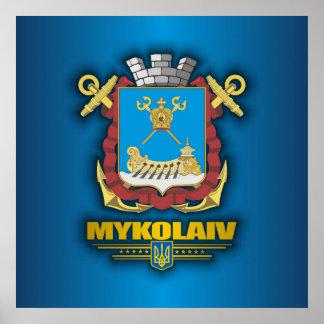 Mykolaiv COA Poster