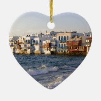 Mykonos 4 christmas ornament