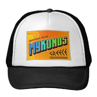 MYKONOS TRUCKER HATS