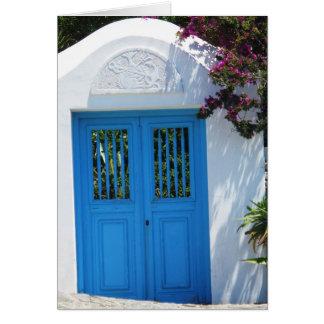 Mykonos, Greece Card