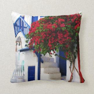 Mykonos, Greece Cushion