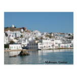 Mykonos Greece Postcard