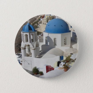 Mykonos Greece Travel 6 Cm Round Badge