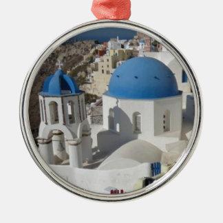 Mykonos Greece Travel Christmas Ornament
