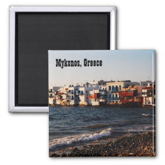 Mykonos Little Venice Fridge Magnet
