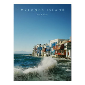 Mykonos Little Venice - poster