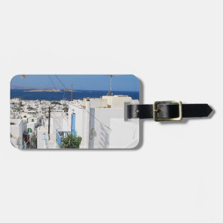 Mykonos Luggage Tag