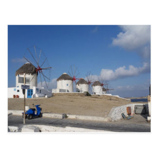 Mykonos Postcard