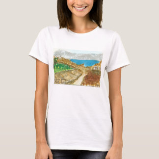 Mykonos View from Delos Near Sacred Lake t-shirt