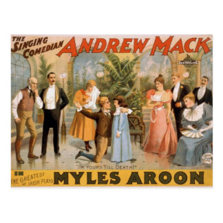 Myles Aroon, 'Andrew Mack', I'm Your's till Death Postcard