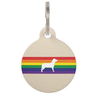 MyPride365 - Rainbow Stripe Dog Tag