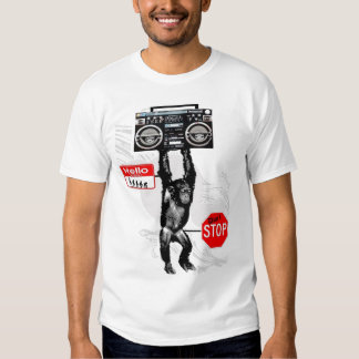 MyPrymate HipHop Chimp Tshirts