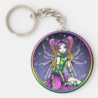 Myra Celestial Rainbow Fairy Keychain