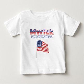 Myrick for Congress Patriotic American Flag Shirt