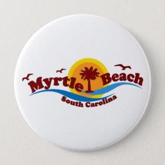 Myrtle Beach. 10 Cm Round Badge