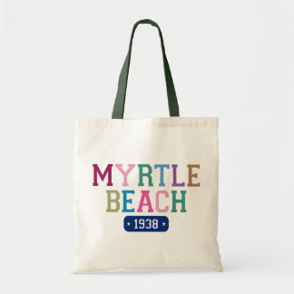 Myrtle Beach 1938 Budget Tote Bag