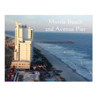 Myrtle Beach 2nd Avenue Pier Postcard