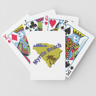 Myrtle Beach Bicycle Playing Cards