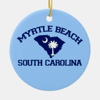 Myrtle Beach. Christmas Ornament