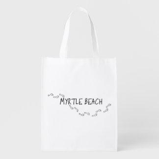 Myrtle Beach Footprints