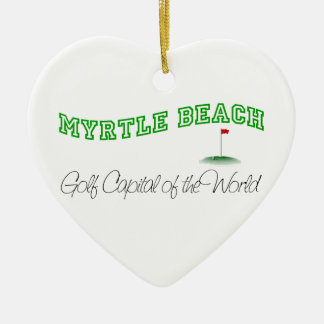 Myrtle Beach - Golf Capital of the World Christmas Ornament