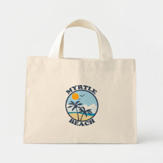 Myrtle Beach. Mini Tote Bag