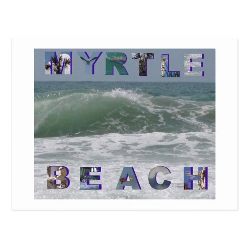 myrtle beach post card