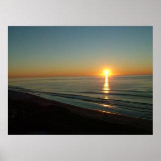 Myrtle Beach, SC Sunrise Poster
