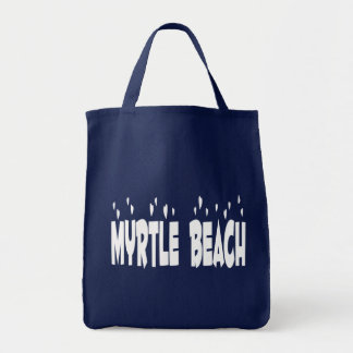 Myrtle Beach, South Carolina, United States Tote Grocery Tote Bag