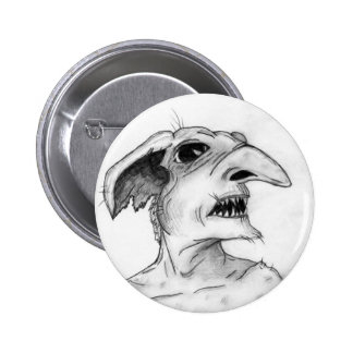Myrtle Mae and the Mirror in the Attic Goblin Pinback Buttons